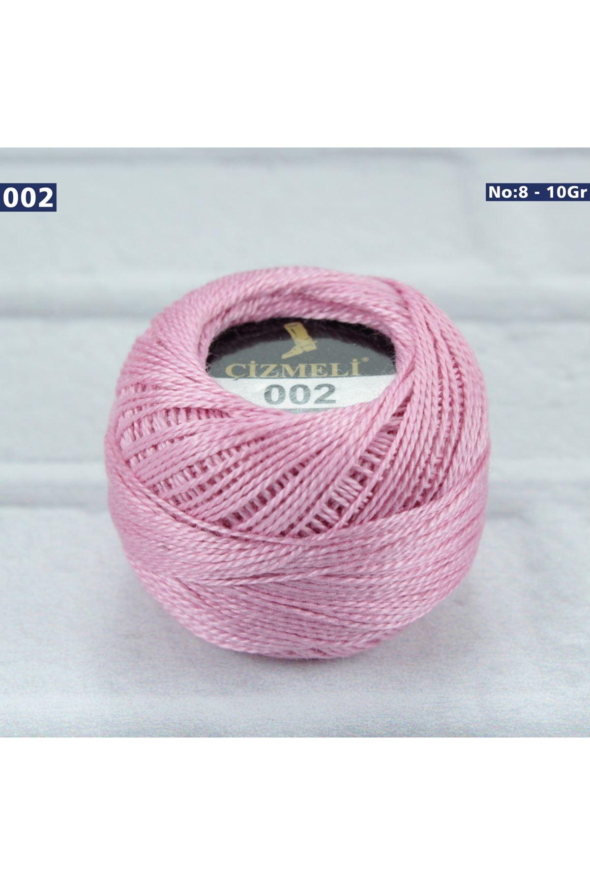 Çizmeli Cotton Perle Nakış İpliği No: 002