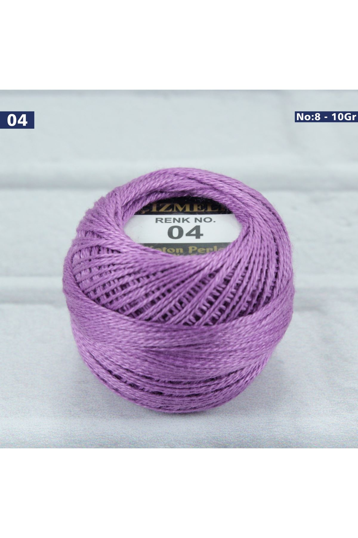 Çizmeli Cotton Perle Nakış İpliği No: 004