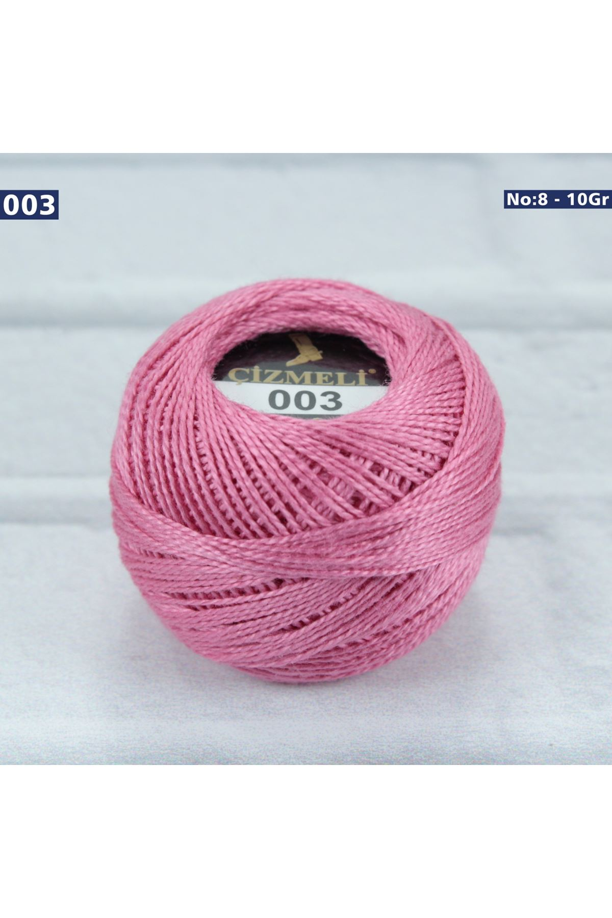 Çizmeli Cotton Perle Nakış İpliği No: 003