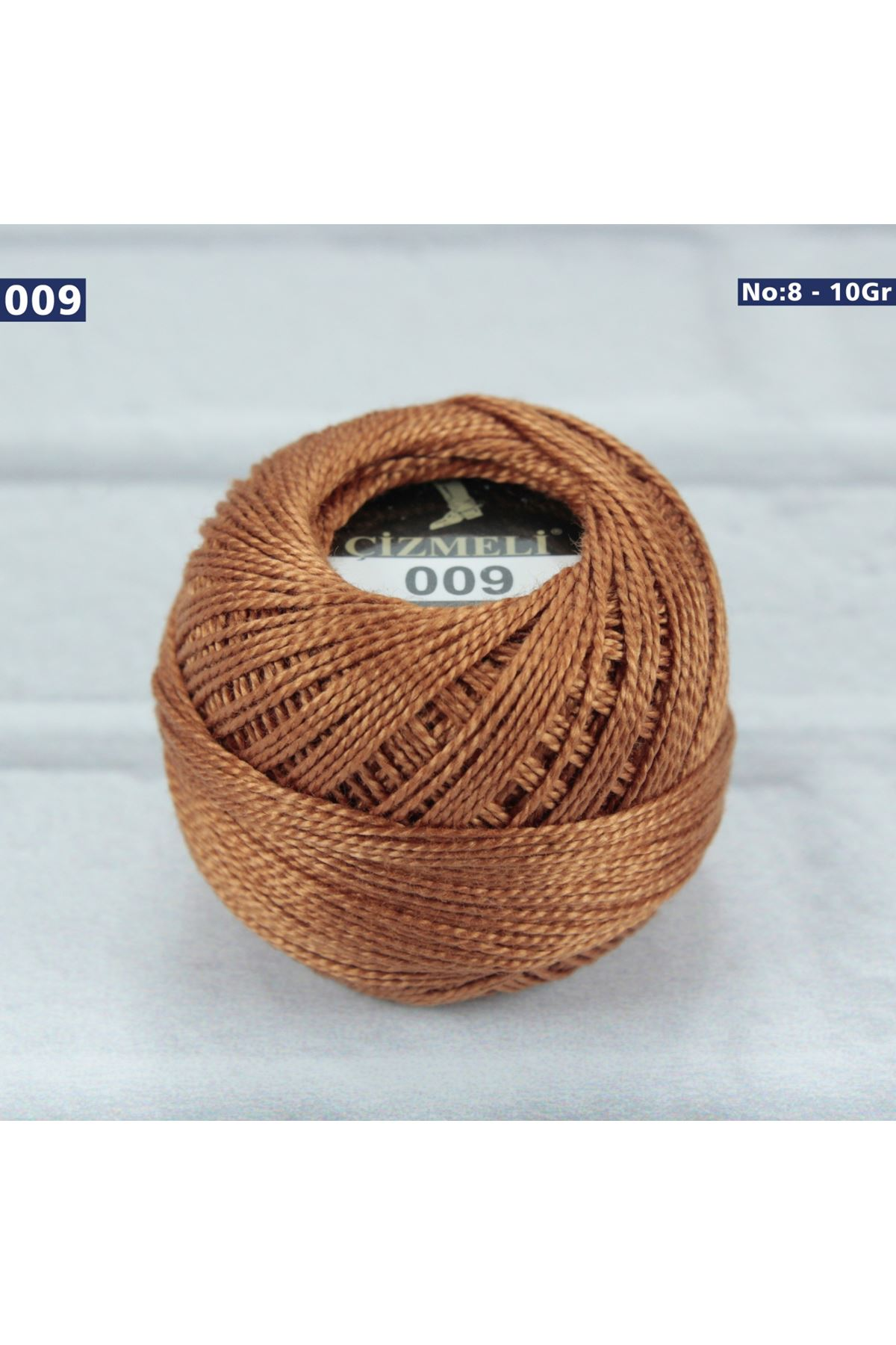 Çizmeli Cotton Perle Nakış İpliği No: 009