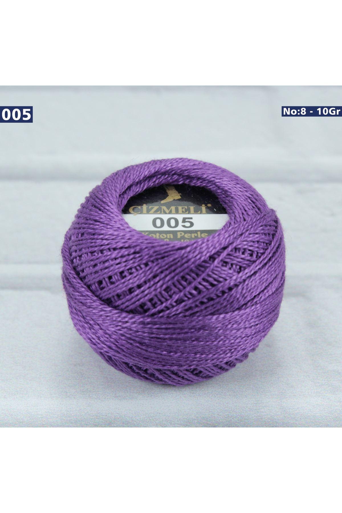 Çizmeli Cotton Perle Nakış İpliği No: 005