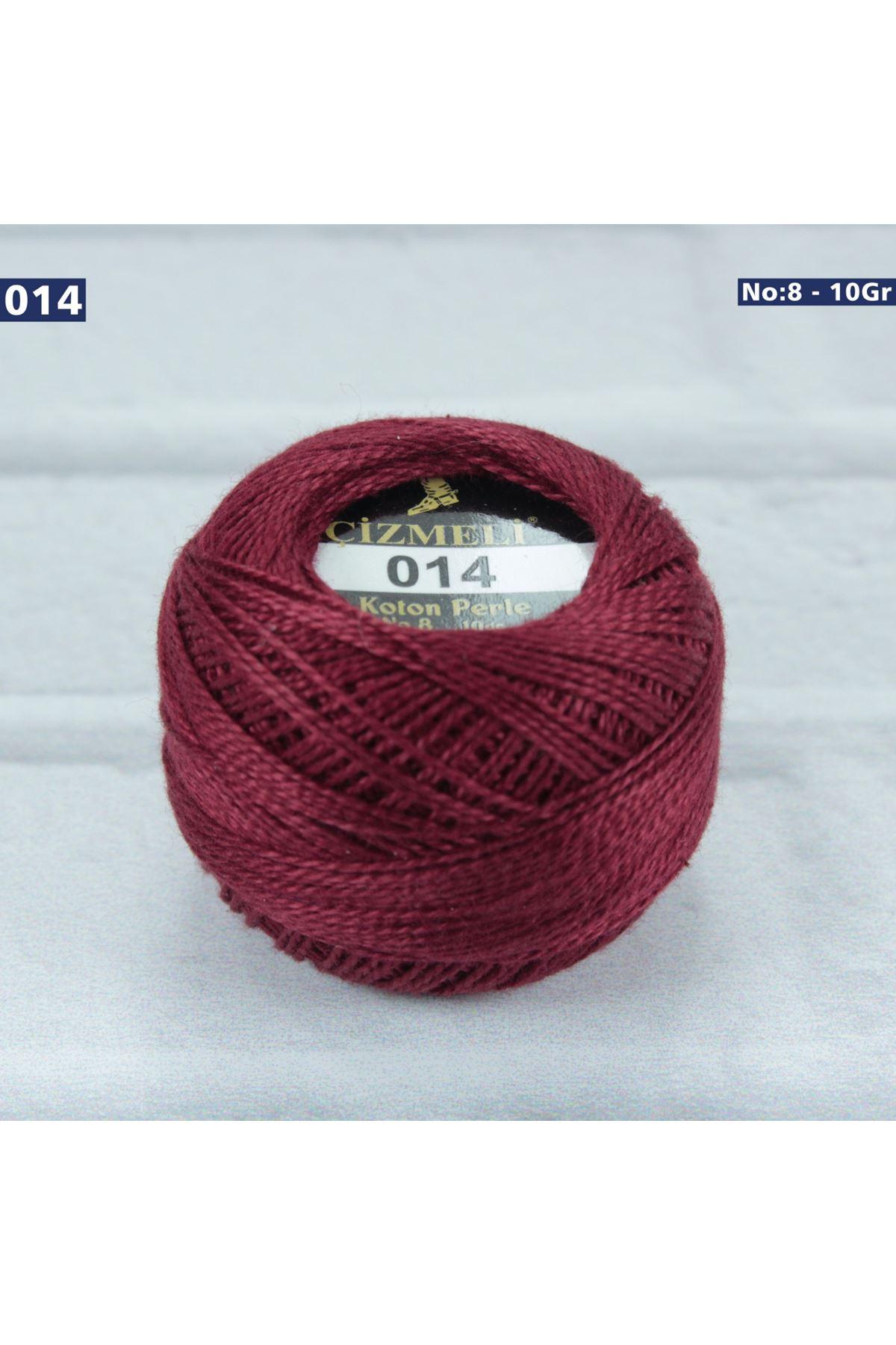 Çizmeli Cotton Perle Nakış İpliği No: 014