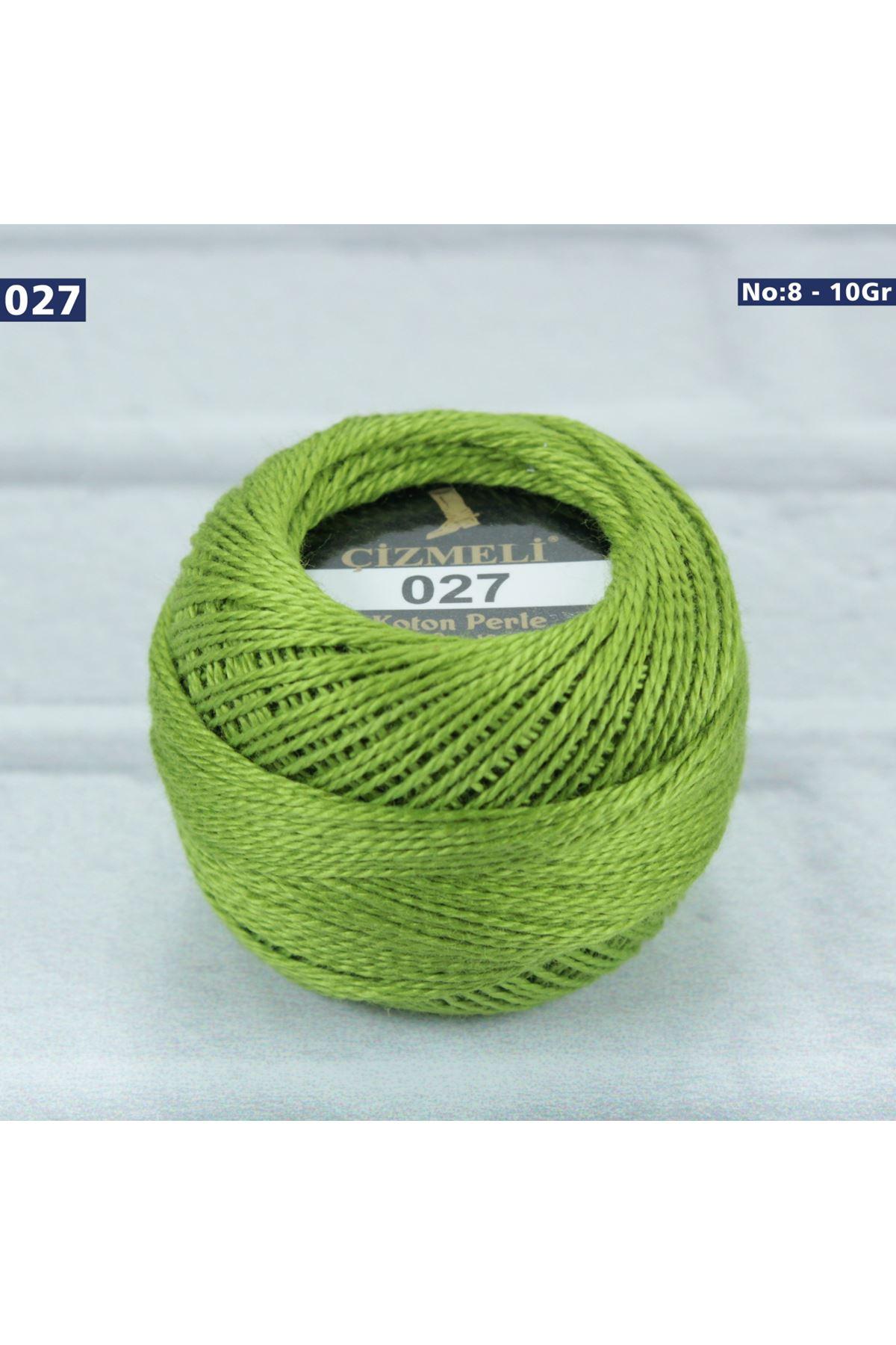 Çizmeli Cotton Perle Nakış İpliği No: 027