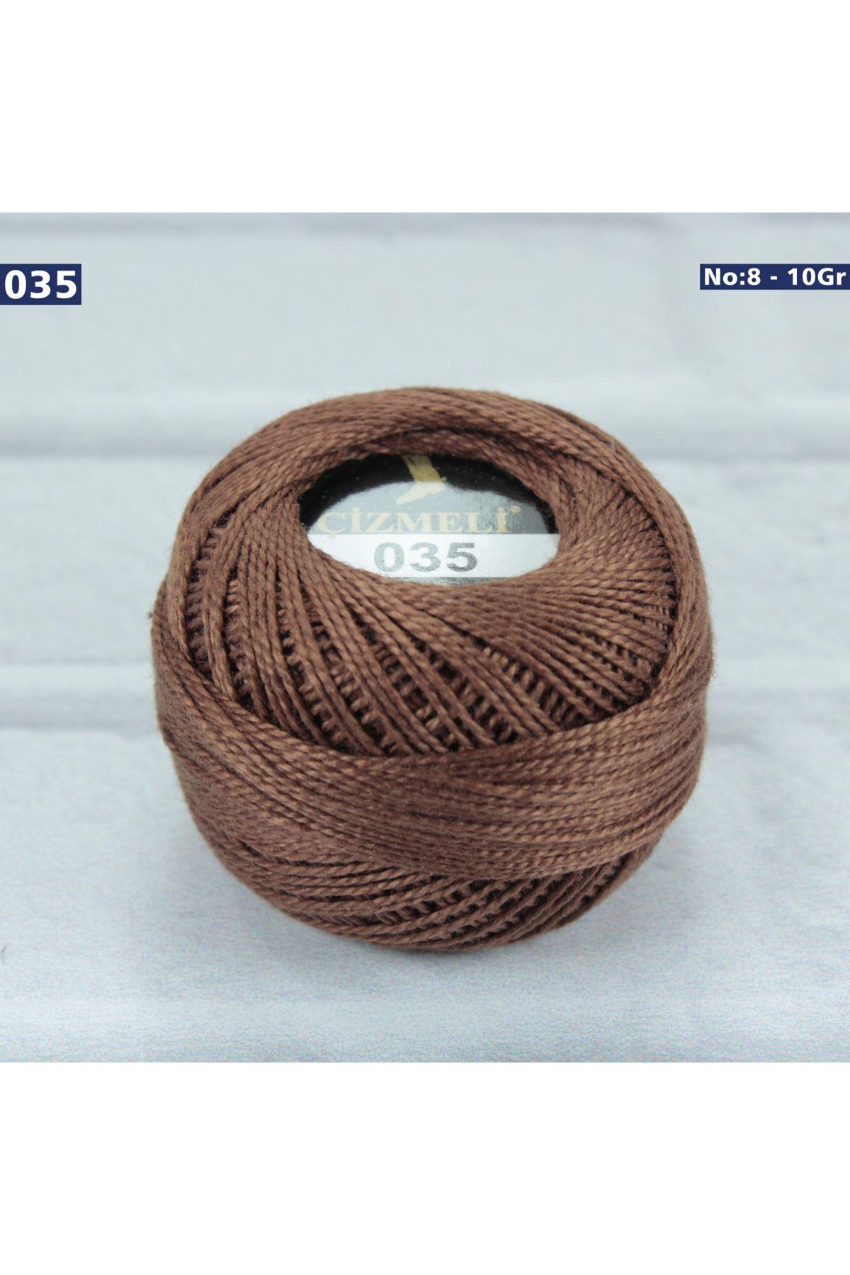 Çizmeli Cotton Perle Nakış İpliği No: 035