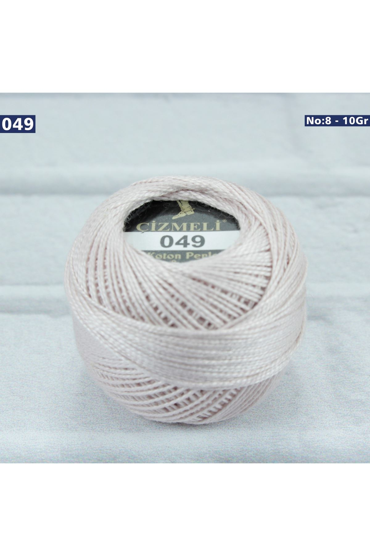 Çizmeli Cotton Perle Nakış İpliği No: 049