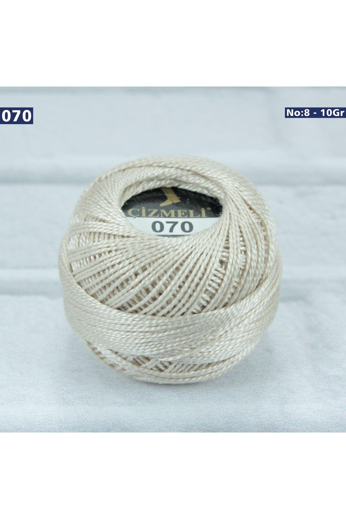 Çizmeli Cotton Perle Nakış İpliği No: 070