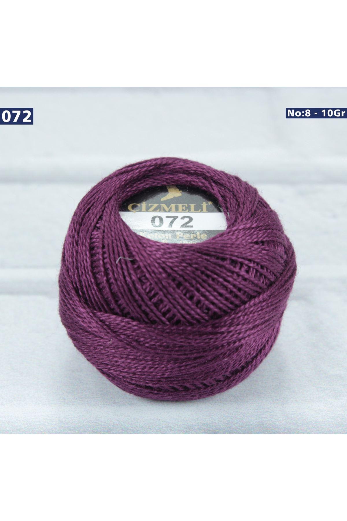 Çizmeli Cotton Perle Nakış İpliği No: 072