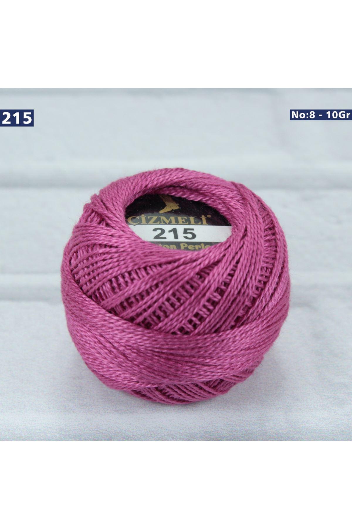 Çizmeli Cotton Perle Nakış İpliği No: 215