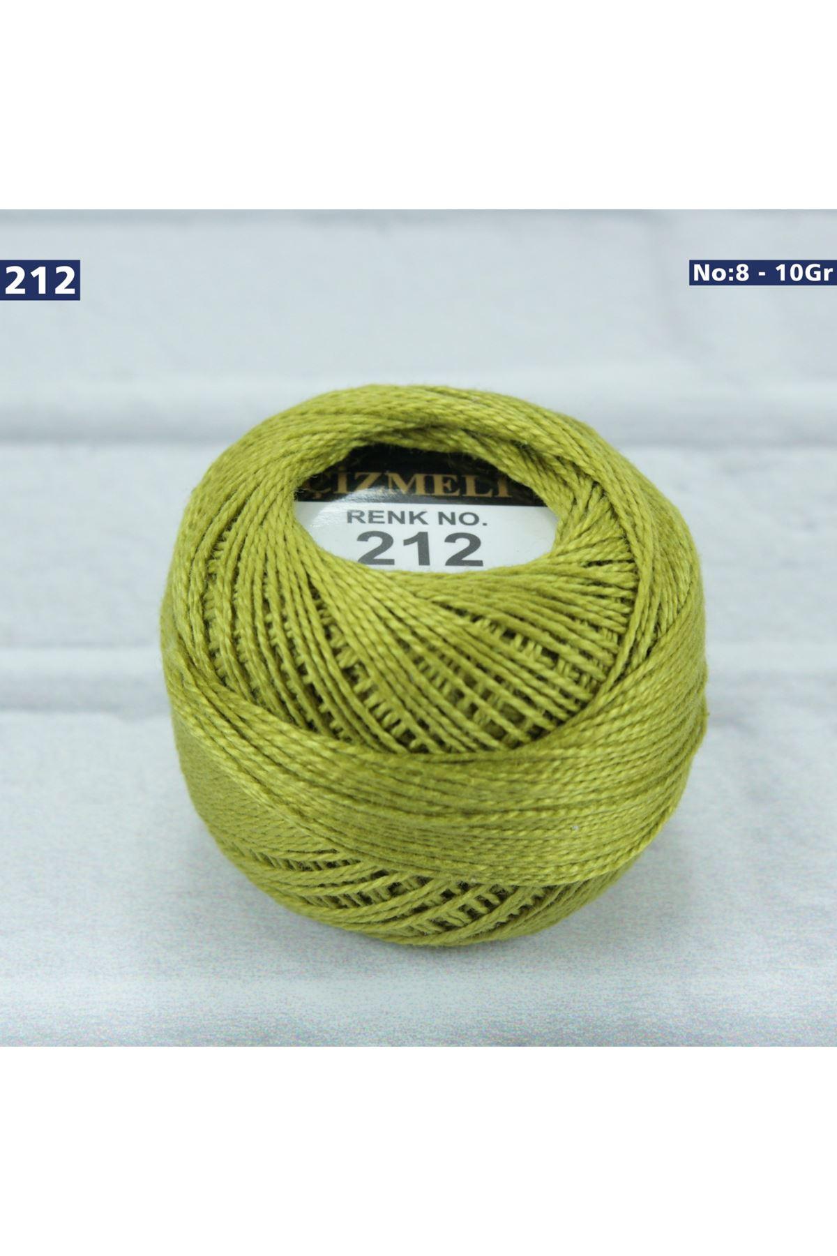 Çizmeli Cotton Perle Nakış İpliği No: 212