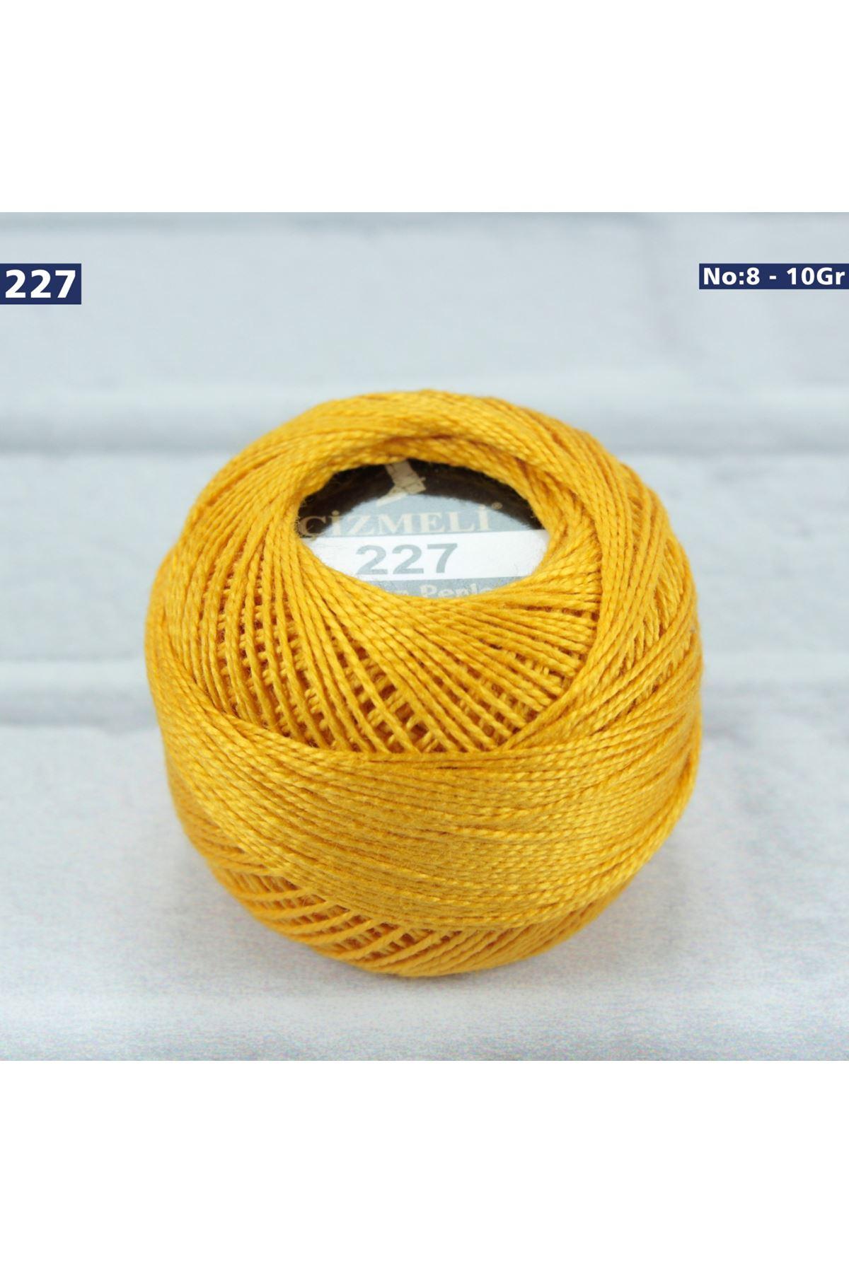 Çizmeli Cotton Perle Nakış İpliği No: 227