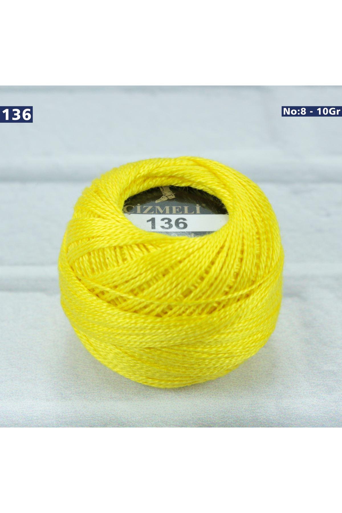 Çizmeli Cotton Perle Nakış İpliği No: 136