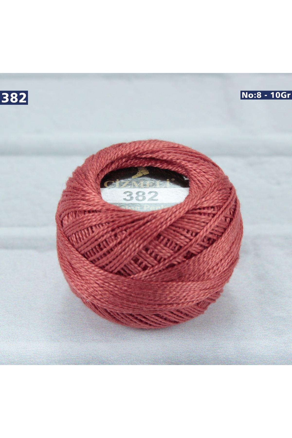 Çizmeli Cotton Perle Nakış İpliği No: 382