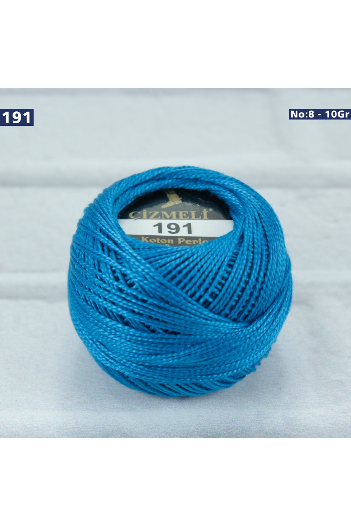 Çizmeli Cotton Perle Nakış İpliği No: 191