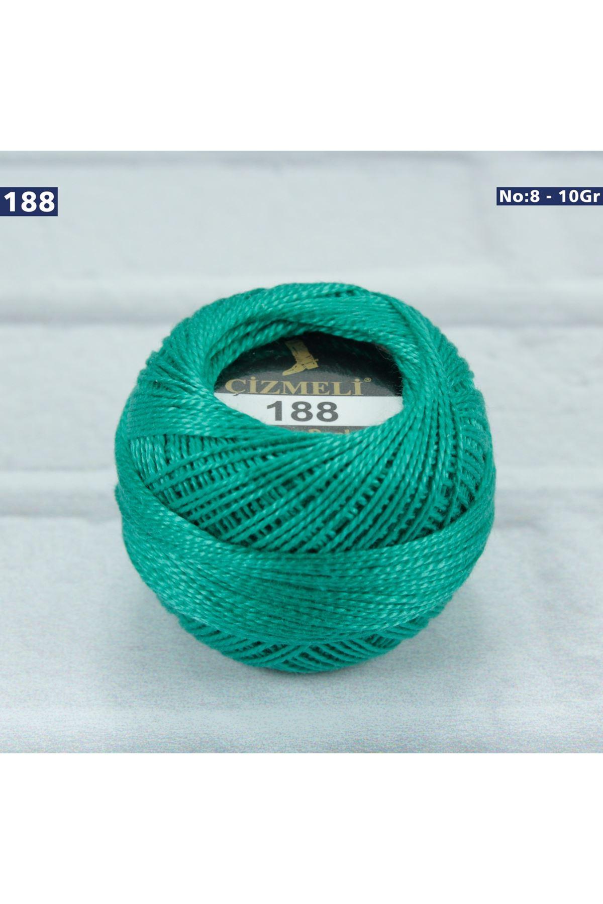 Çizmeli Cotton Perle Nakış İpliği No: 188