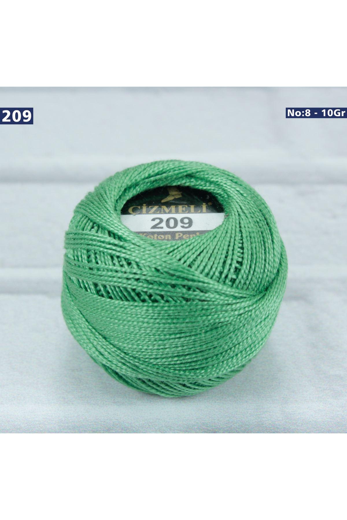 Çizmeli Cotton Perle Nakış İpliği No: 209