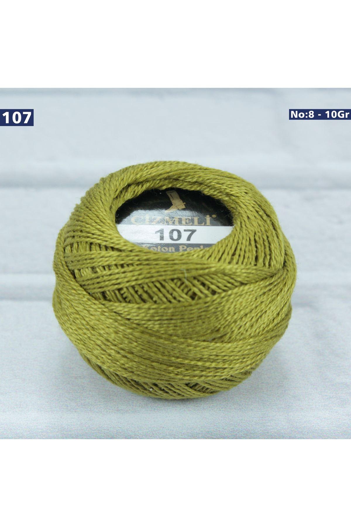 Çizmeli Cotton Perle Nakış İpliği No: 107