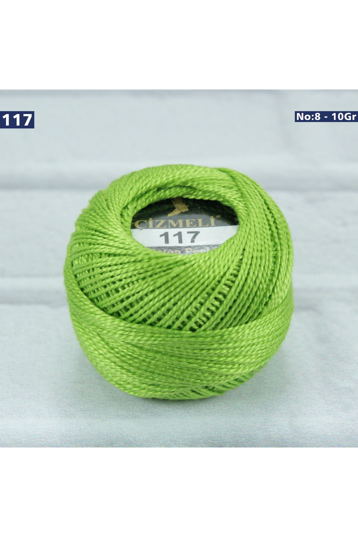 Çizmeli Cotton Perle Nakış İpliği No: 117