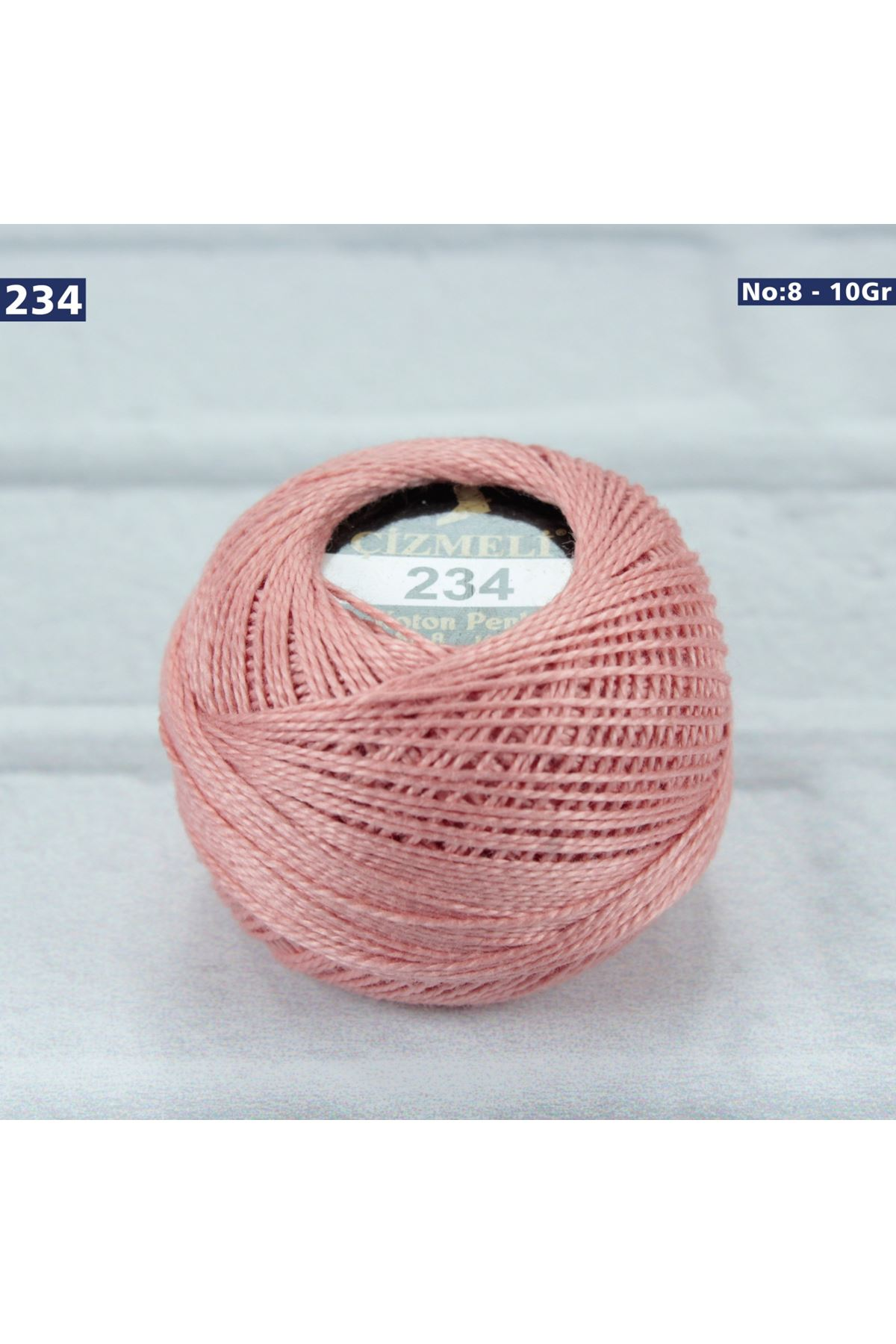 Çizmeli Cotton Perle Nakış İpliği No: 234