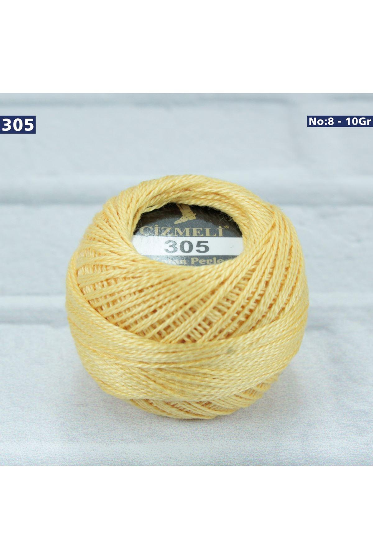 Çizmeli Cotton Perle Nakış İpliği No: 305