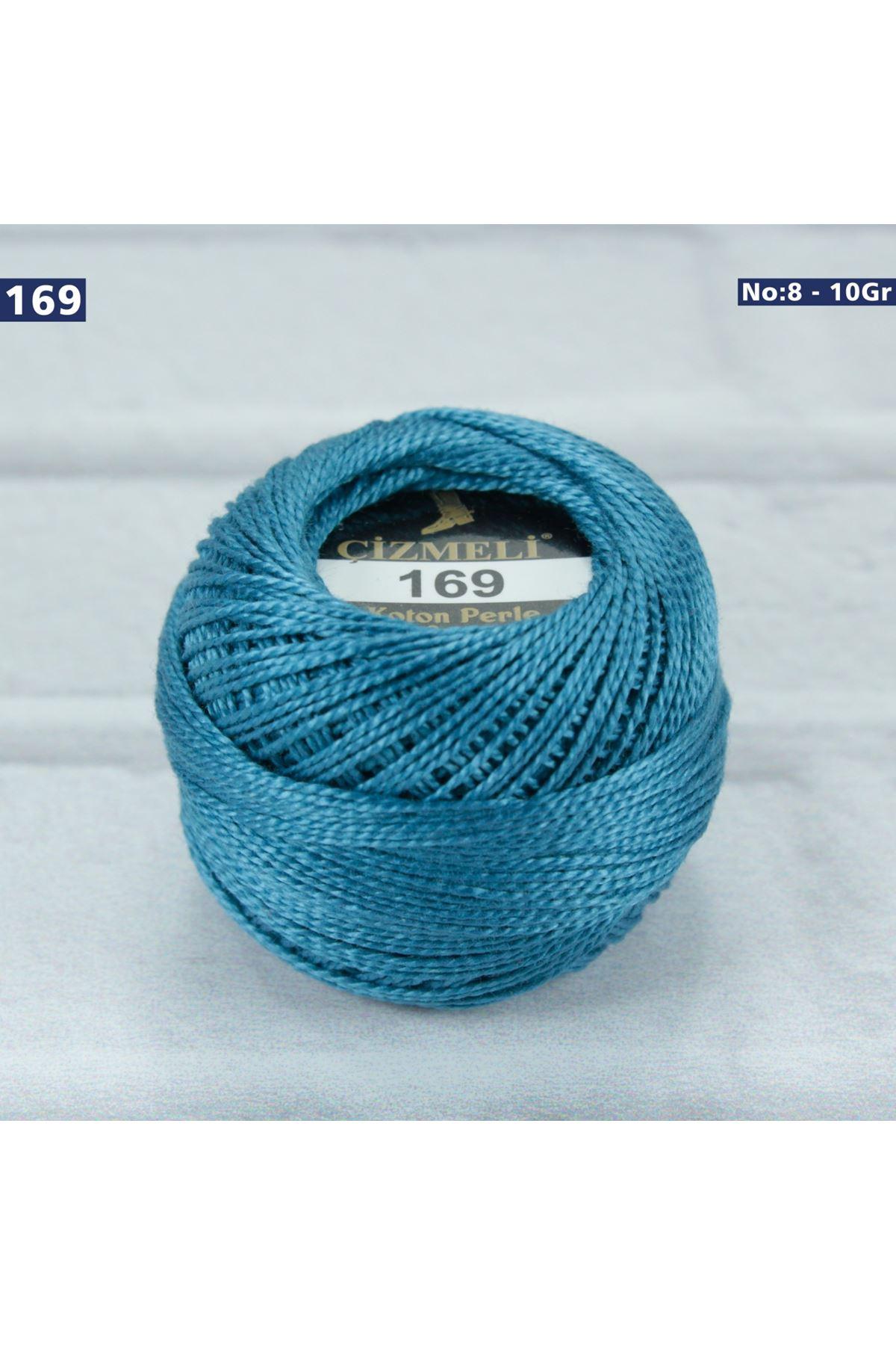 Çizmeli Cotton Perle Nakış İpliği No: 169