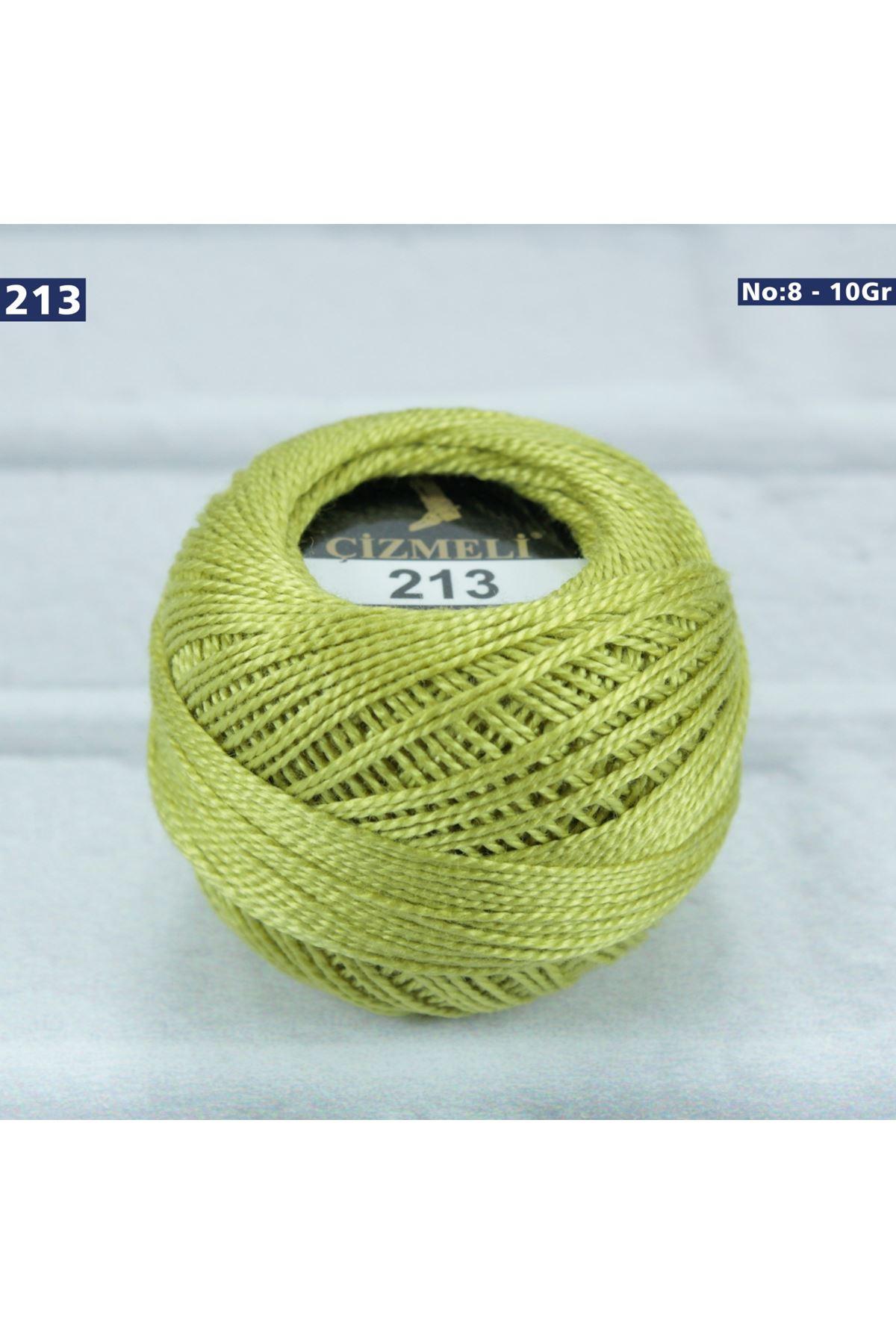 Çizmeli Cotton Perle Nakış İpliği No: 213