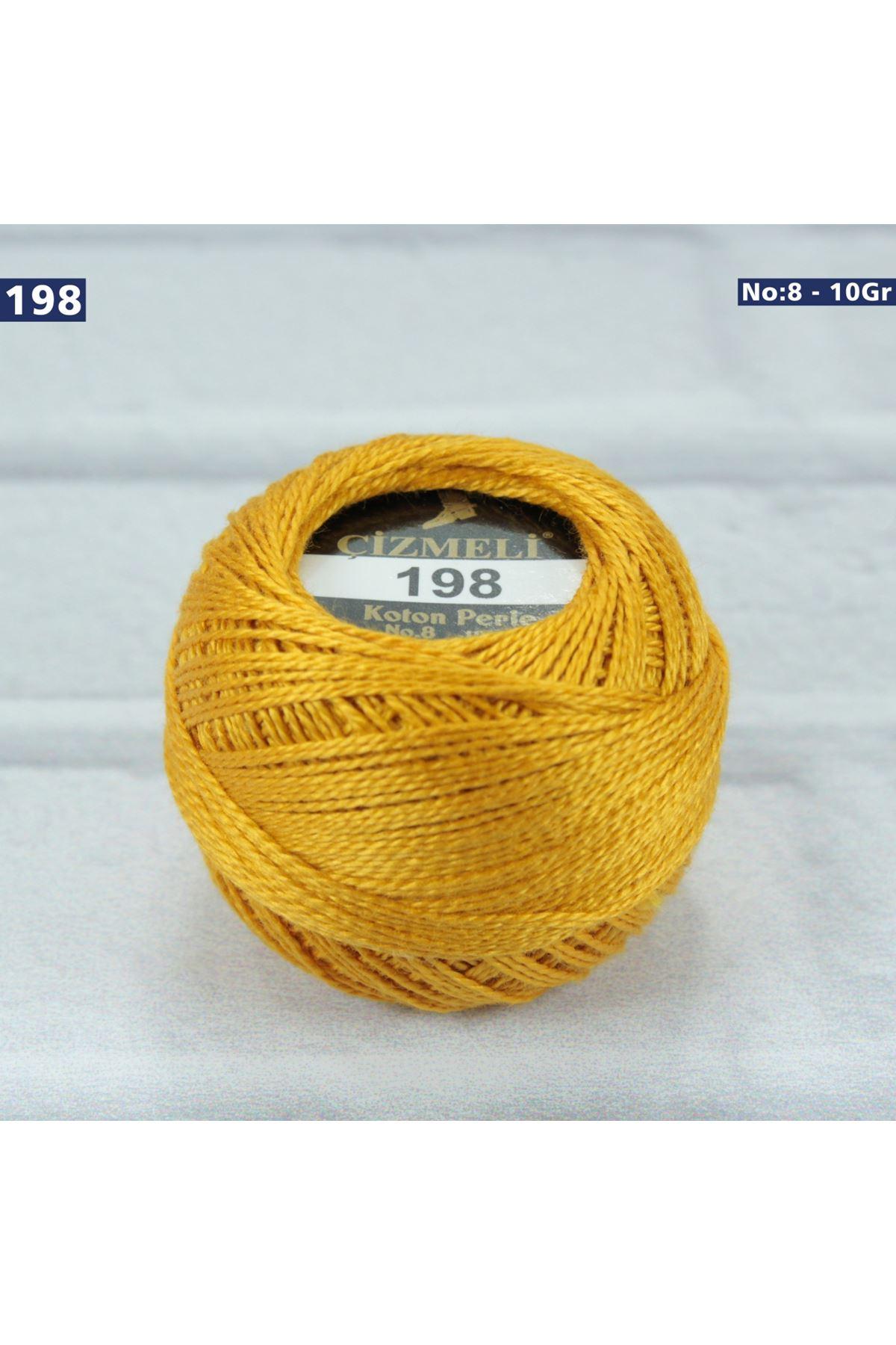 Çizmeli Cotton Perle Nakış İpliği No: 198