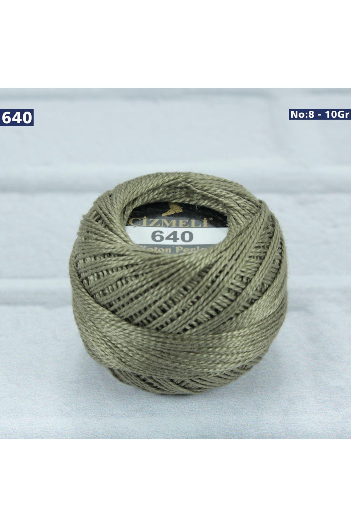 Çizmeli Cotton Perle Nakış İpliği No: 640