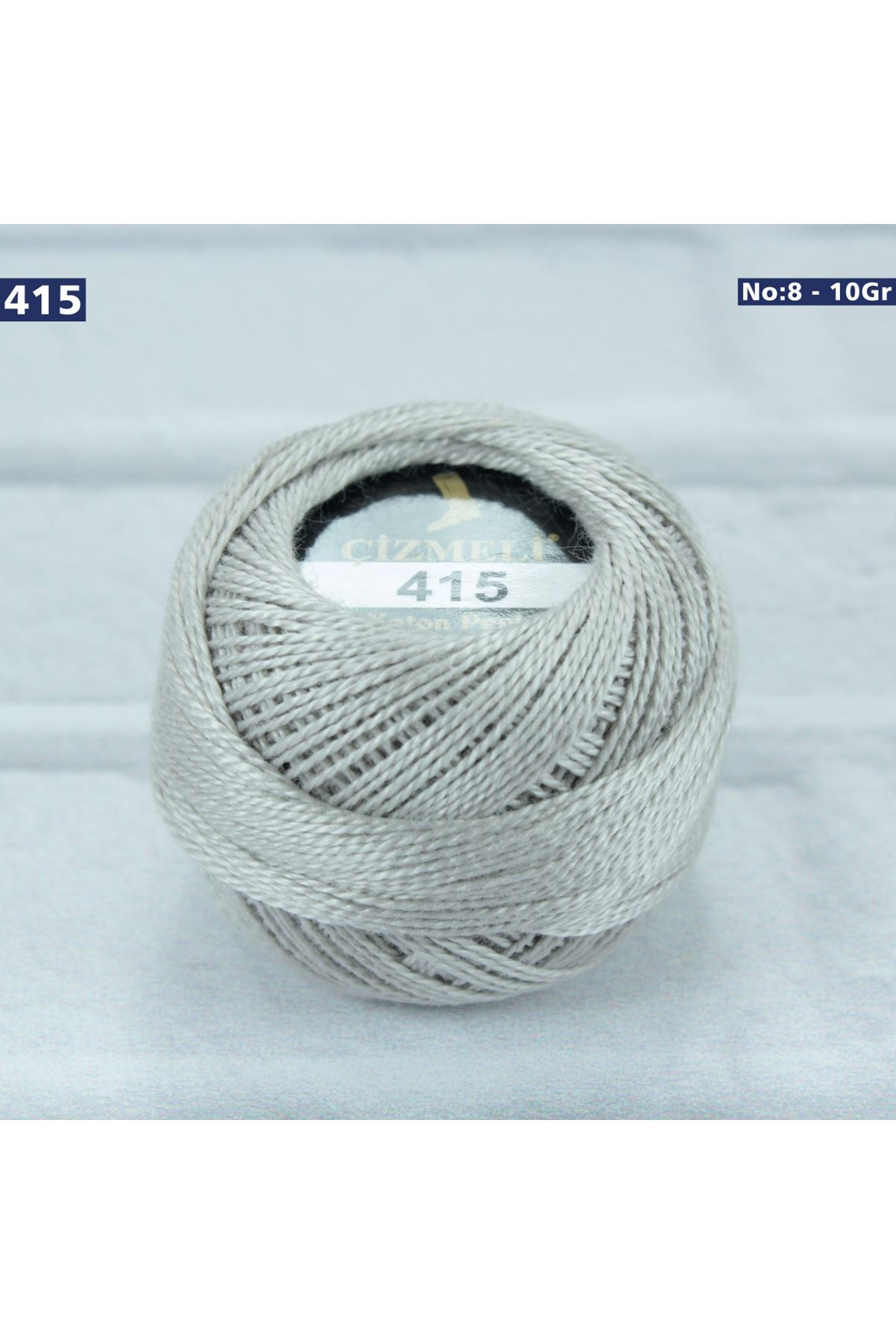 Çizmeli Cotton Perle Nakış İpliği No: 415