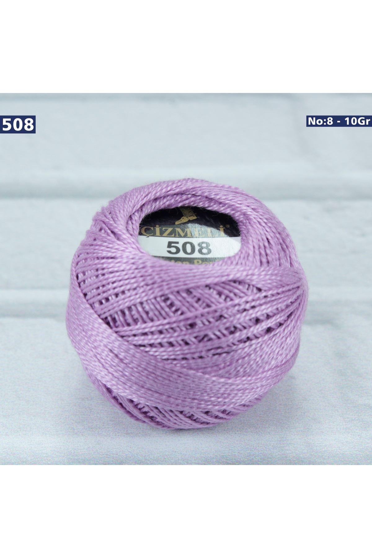 Çizmeli Cotton Perle Nakış İpliği No: 508