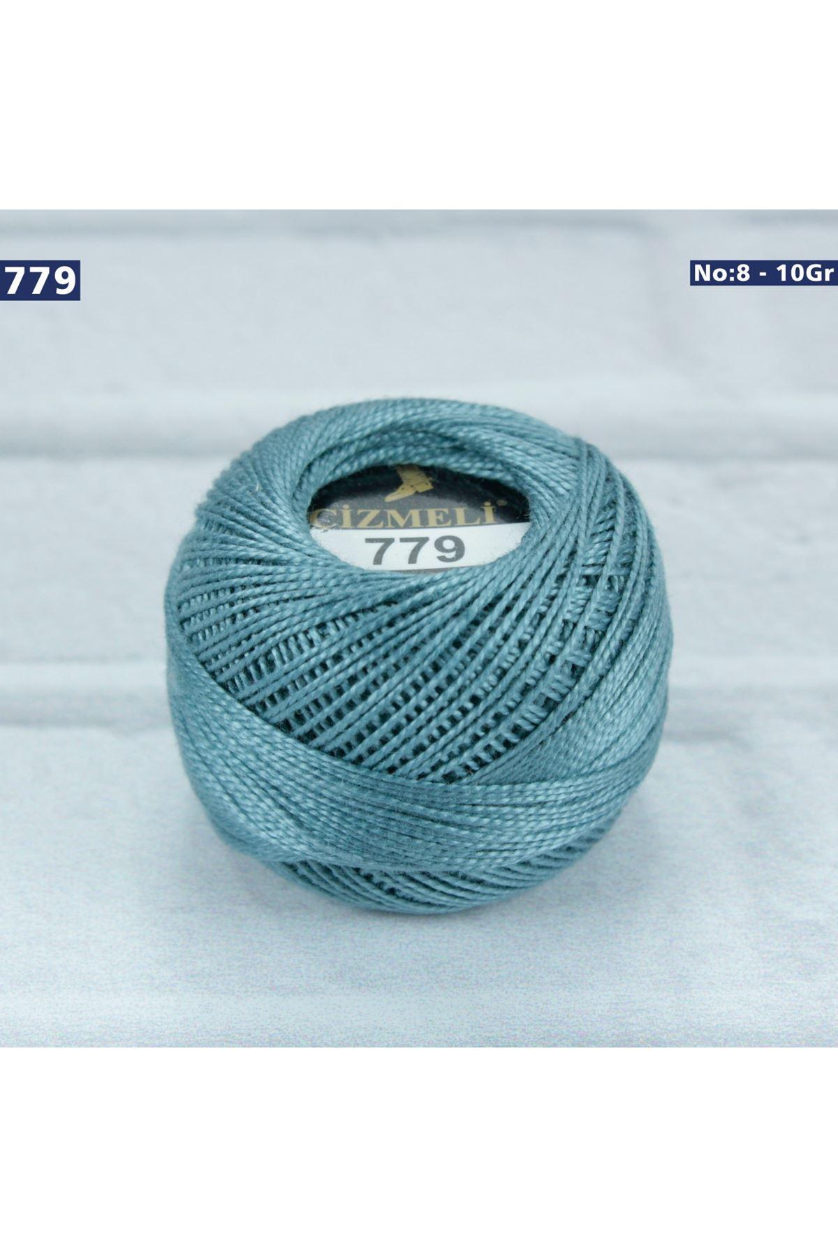 Çizmeli Cotton Perle Nakış İpliği No: 779