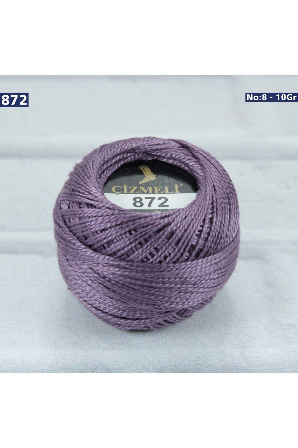 Çizmeli Cotton Perle Nakış İpliği No: 872