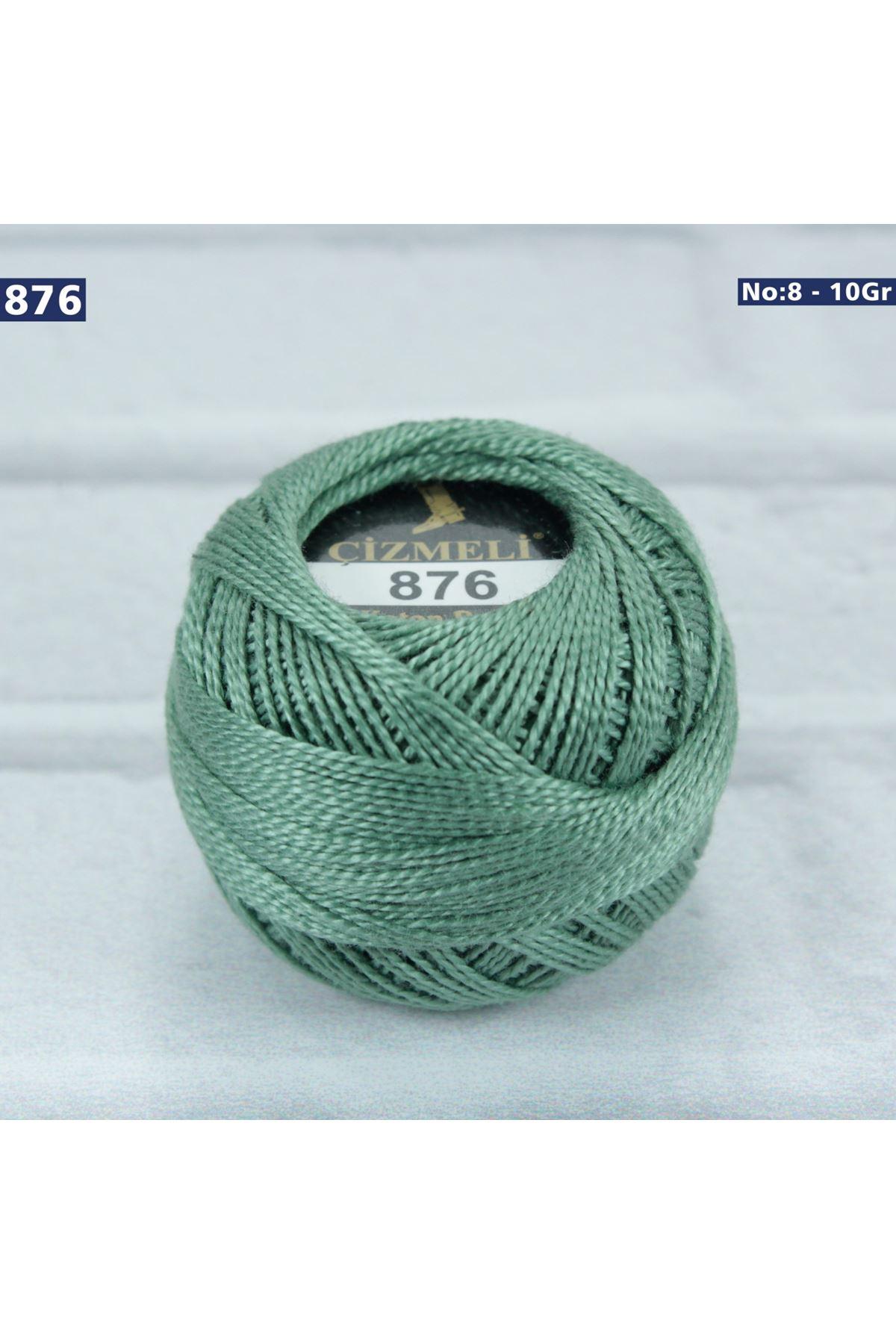 Çizmeli Cotton Perle Nakış İpliği No: 876