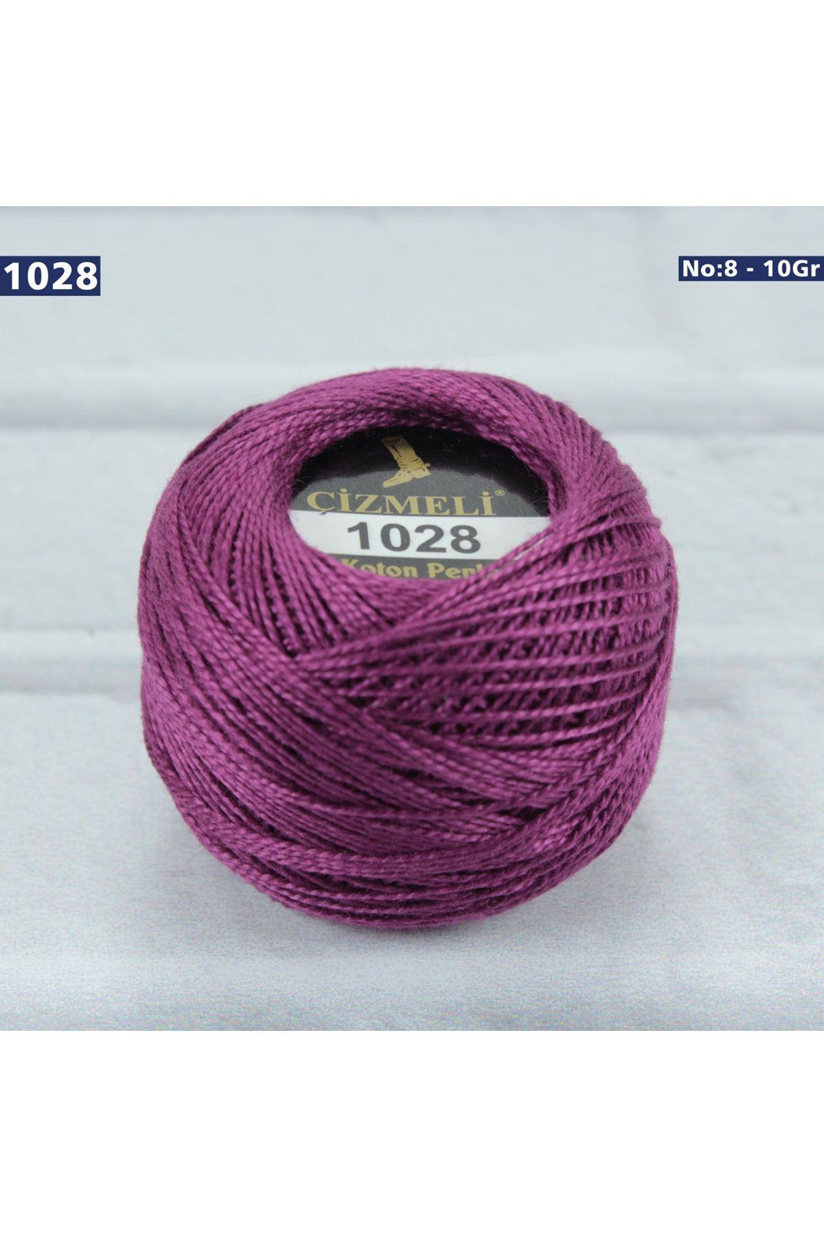 Çizmeli Cotton Perle Nakış İpliği No: 1028