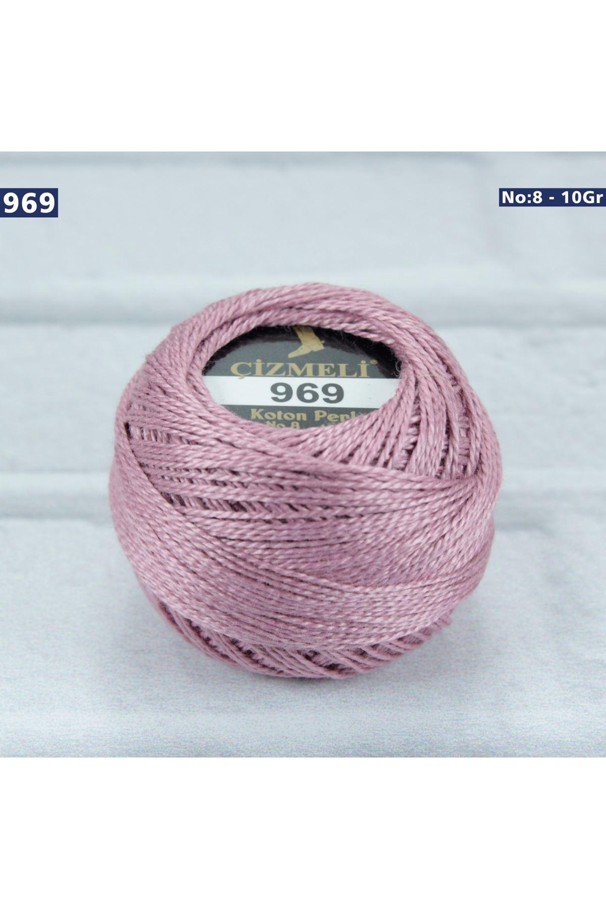 Çizmeli Cotton Perle Nakış İpliği No: 969