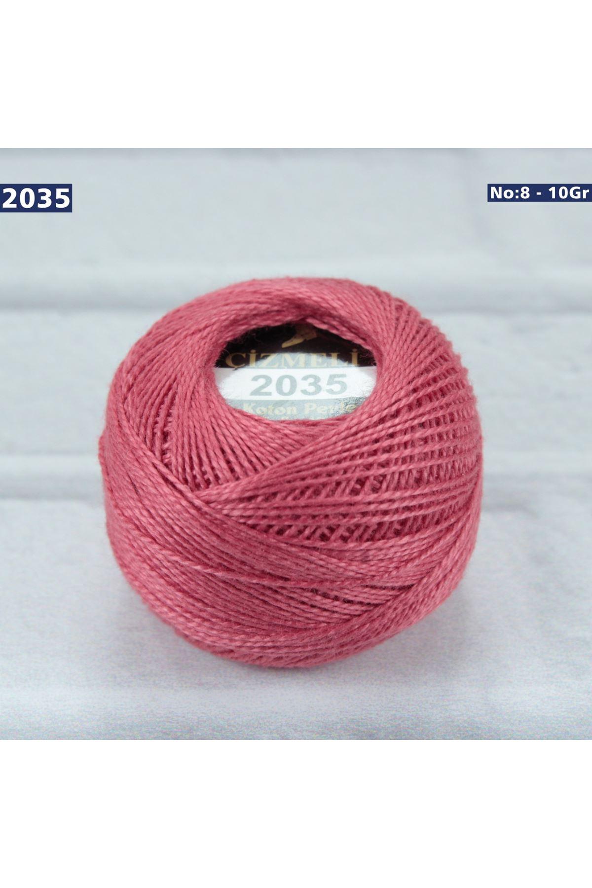 Çizmeli Cotton Perle Nakış İpliği No: 2035