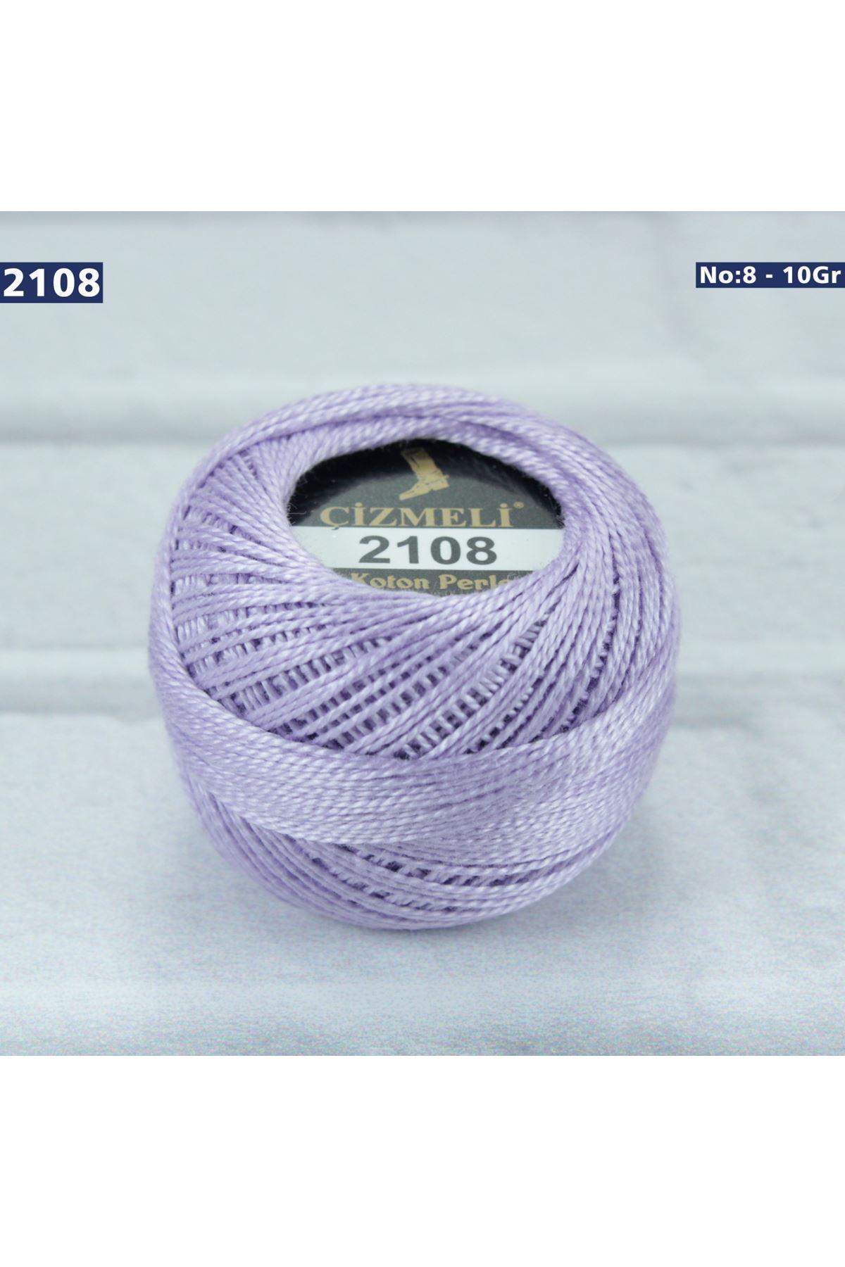 Çizmeli Cotton Perle Nakış İpliği No: 2108