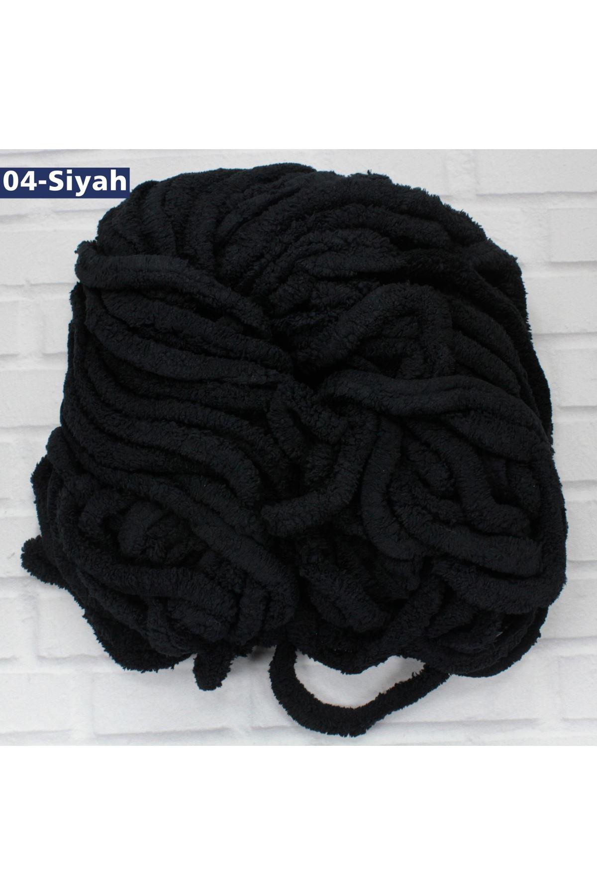 El ile Örülen Kadife 04 - Siyah