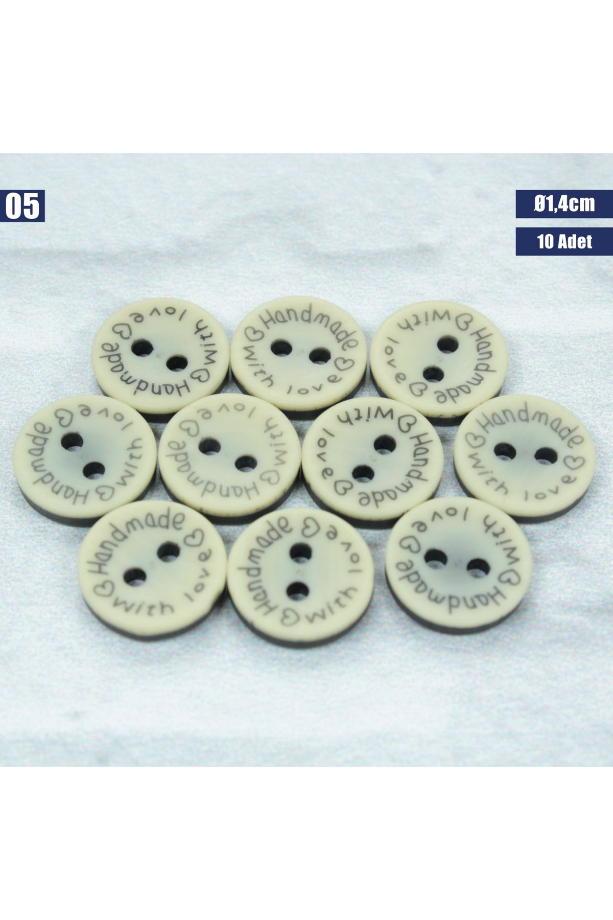 Amigurumi Düğmesi Ø 1,4cm - 05