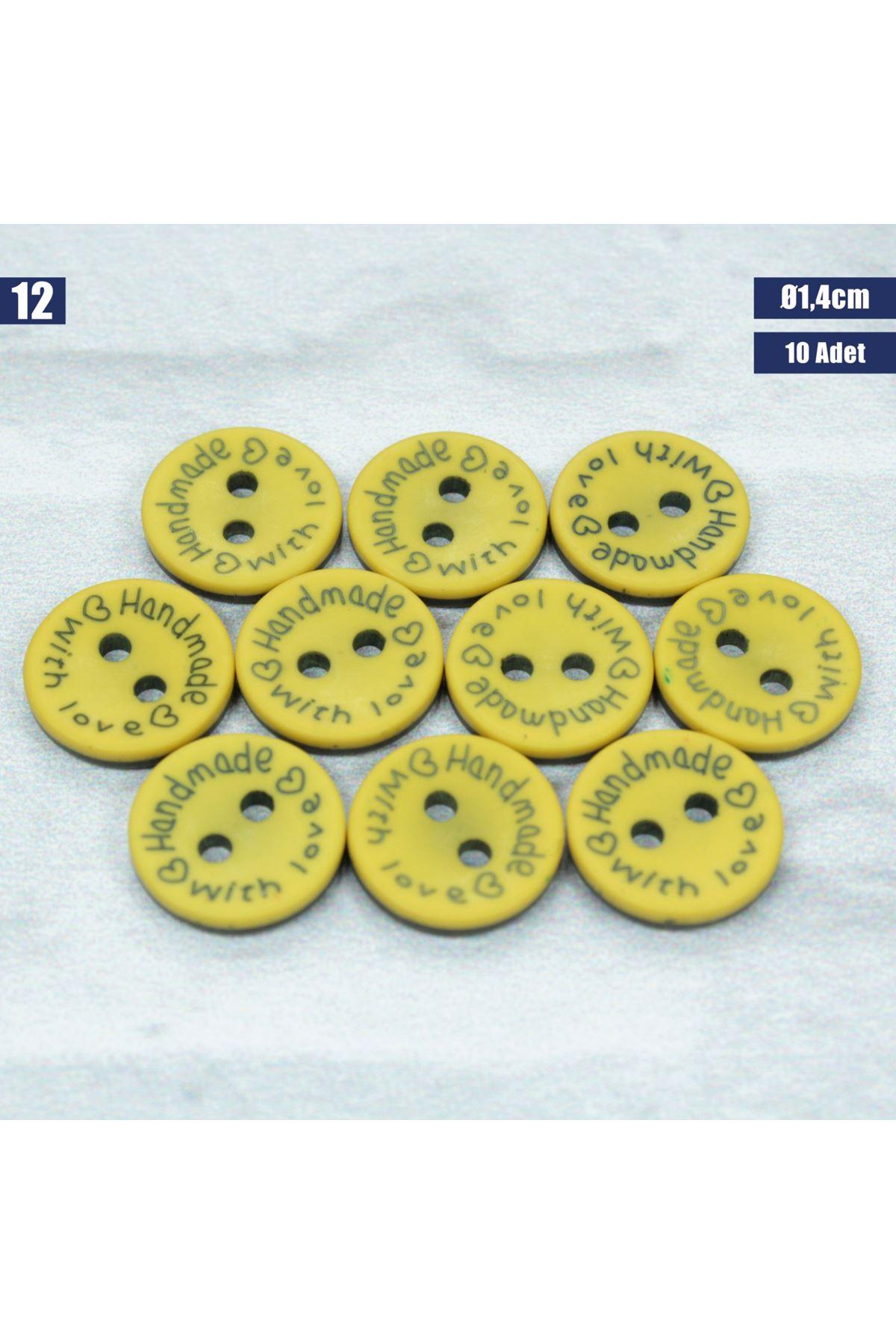 Amigurumi Düğmesi Ø 1,4cm - 12