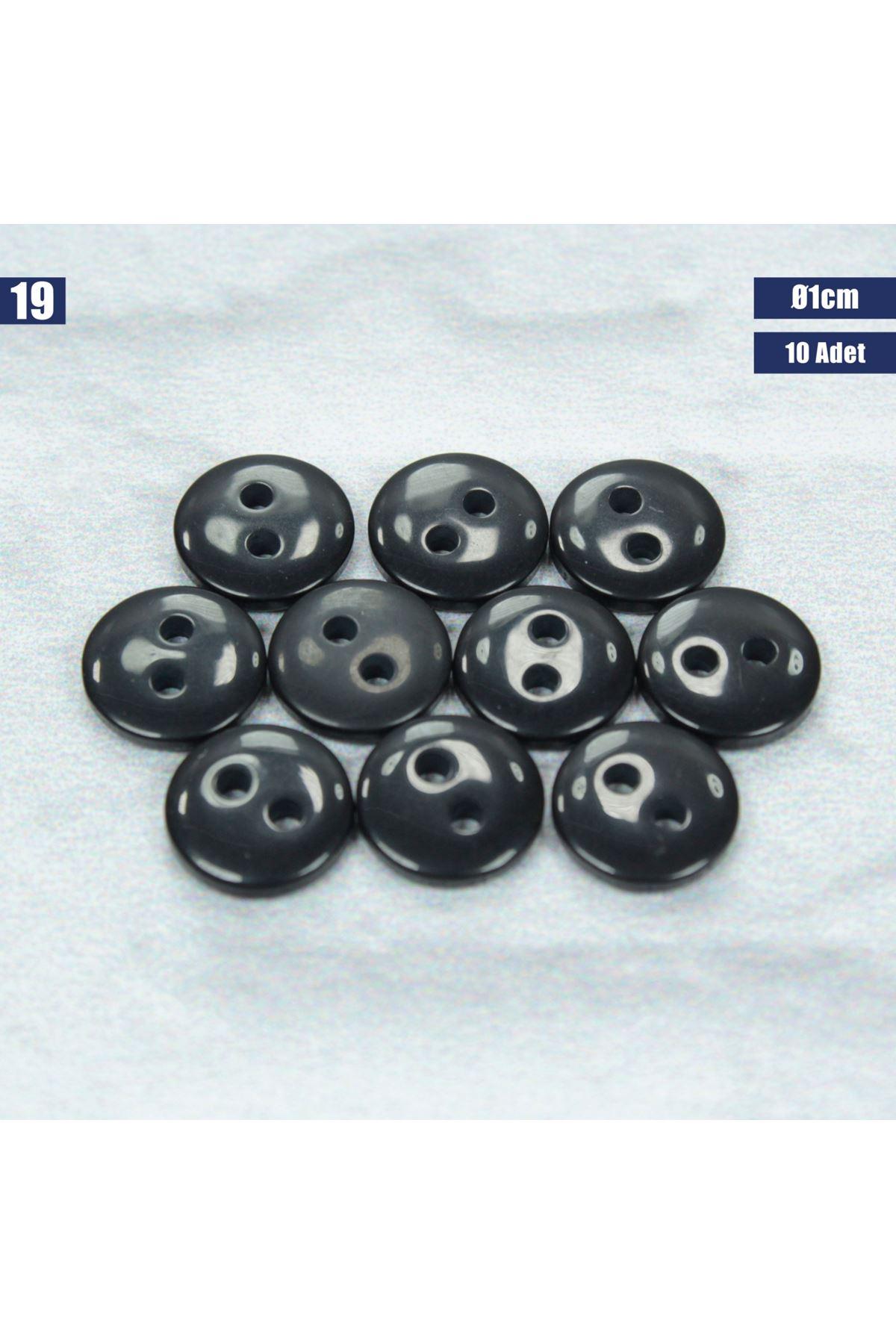 Amigurumi Düğmesi Ø 1cm - 19