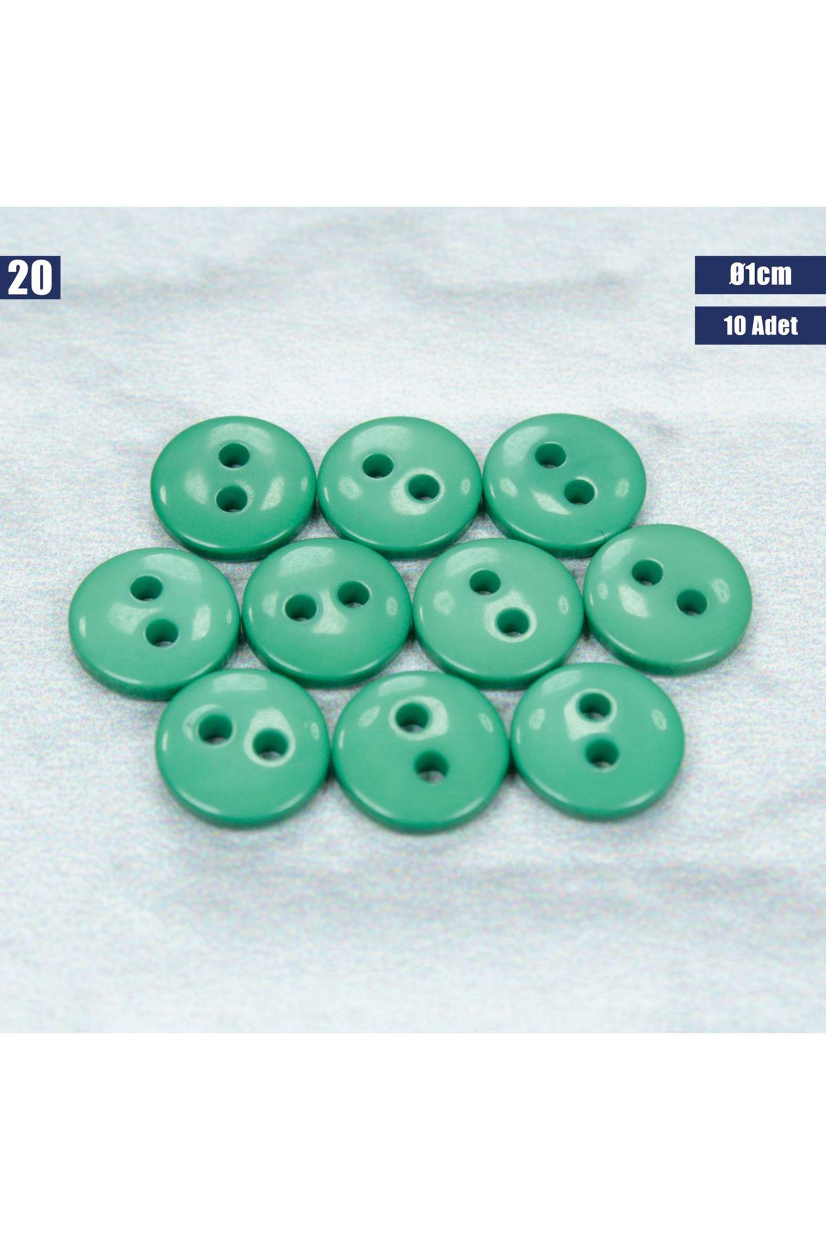 Amigurumi Düğmesi Ø 1cm - 20