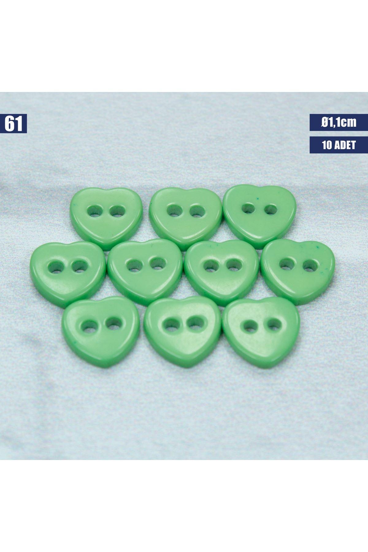 Amigurumi Düğmesi Ø 1,1cm - 61