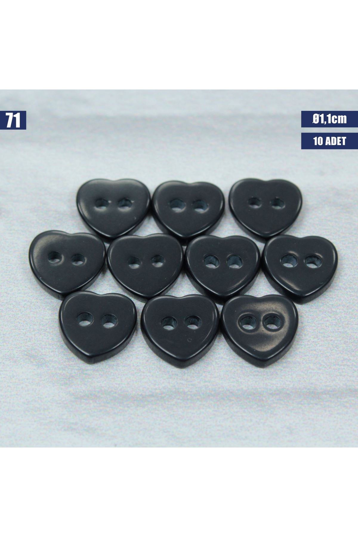 Amigurumi Düğmesi Ø 1,1cm - 71