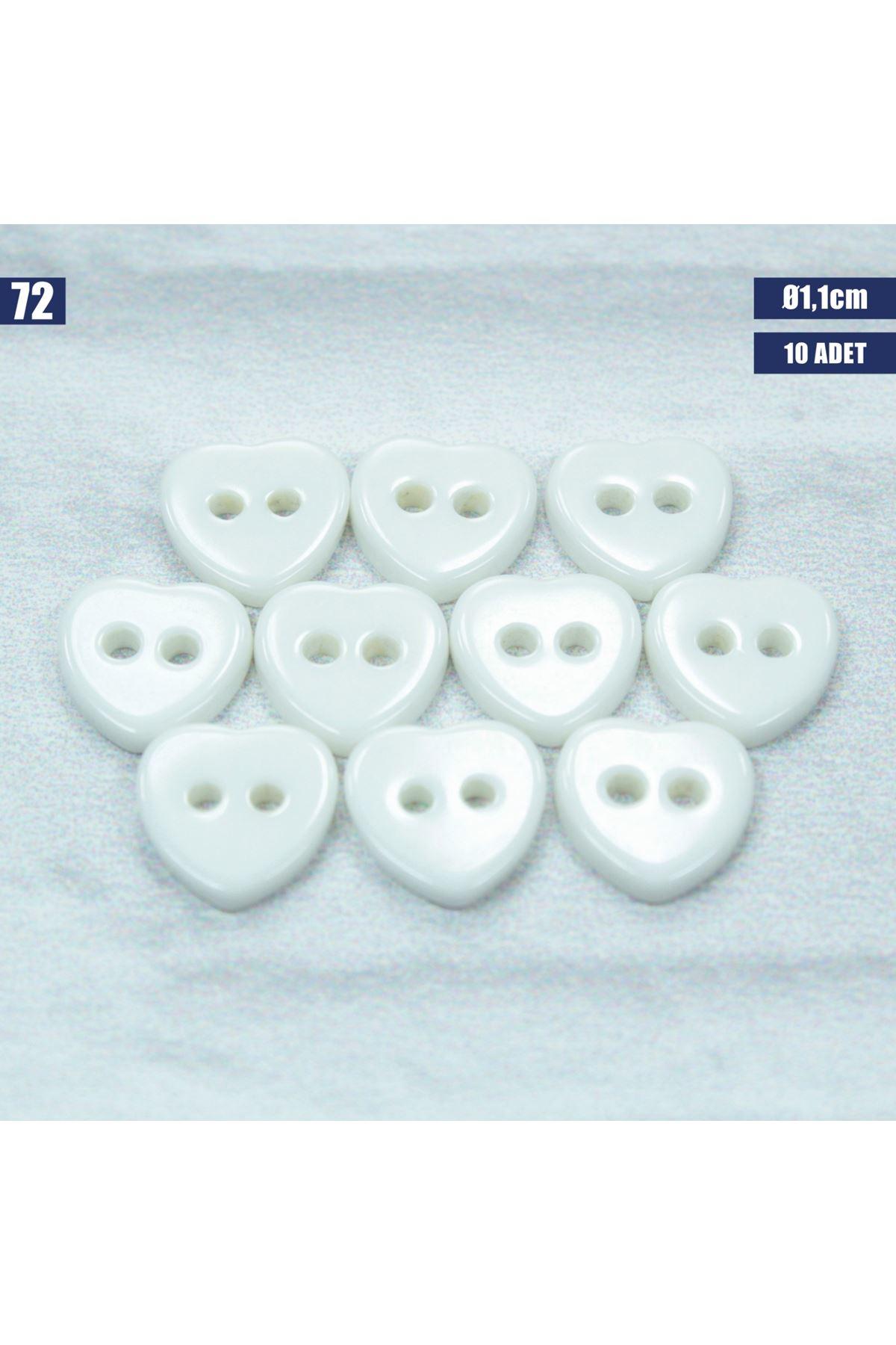 Amigurumi Düğmesi Ø 1,1cm - 72