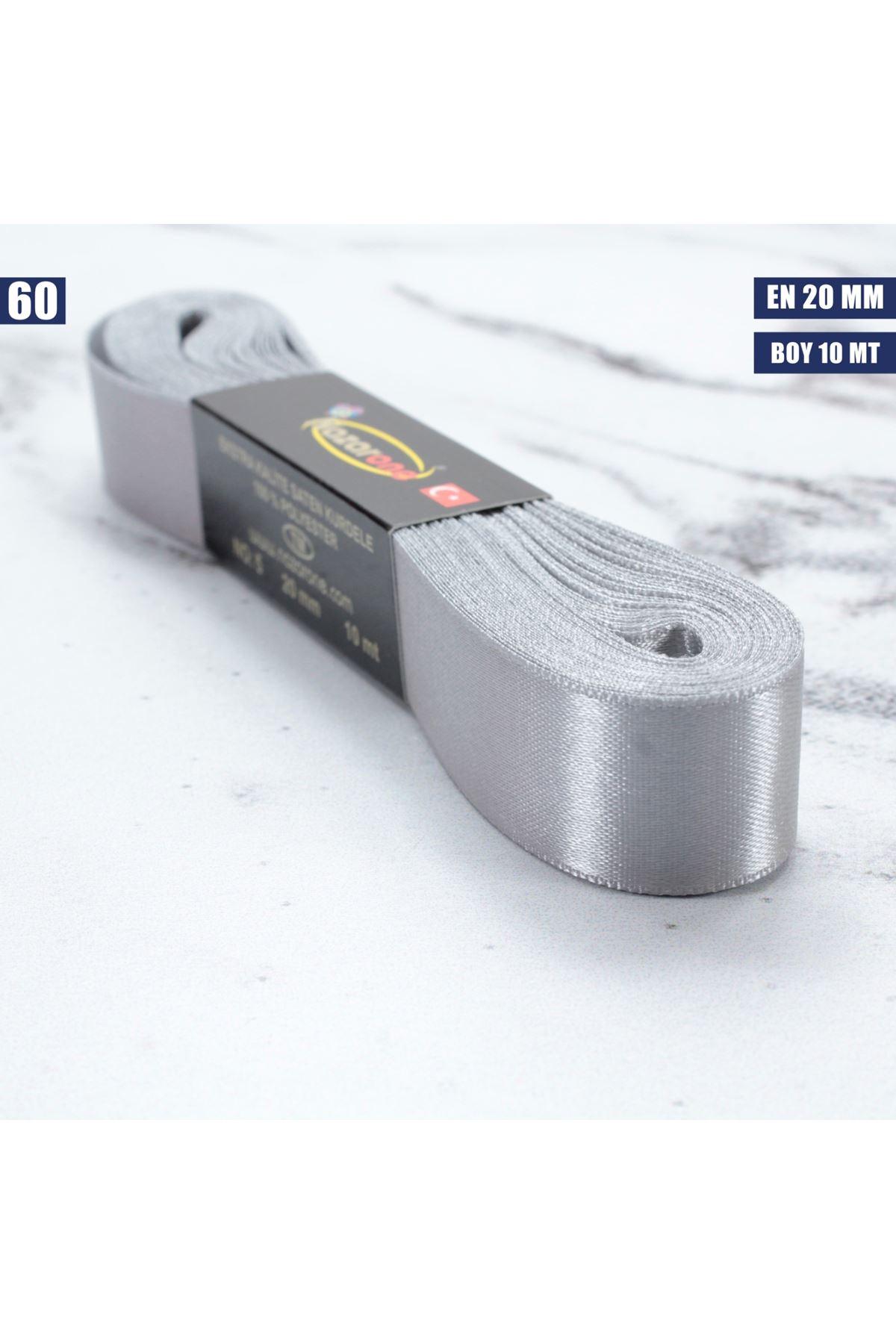 Saten Kurdele - 20 mm - 60