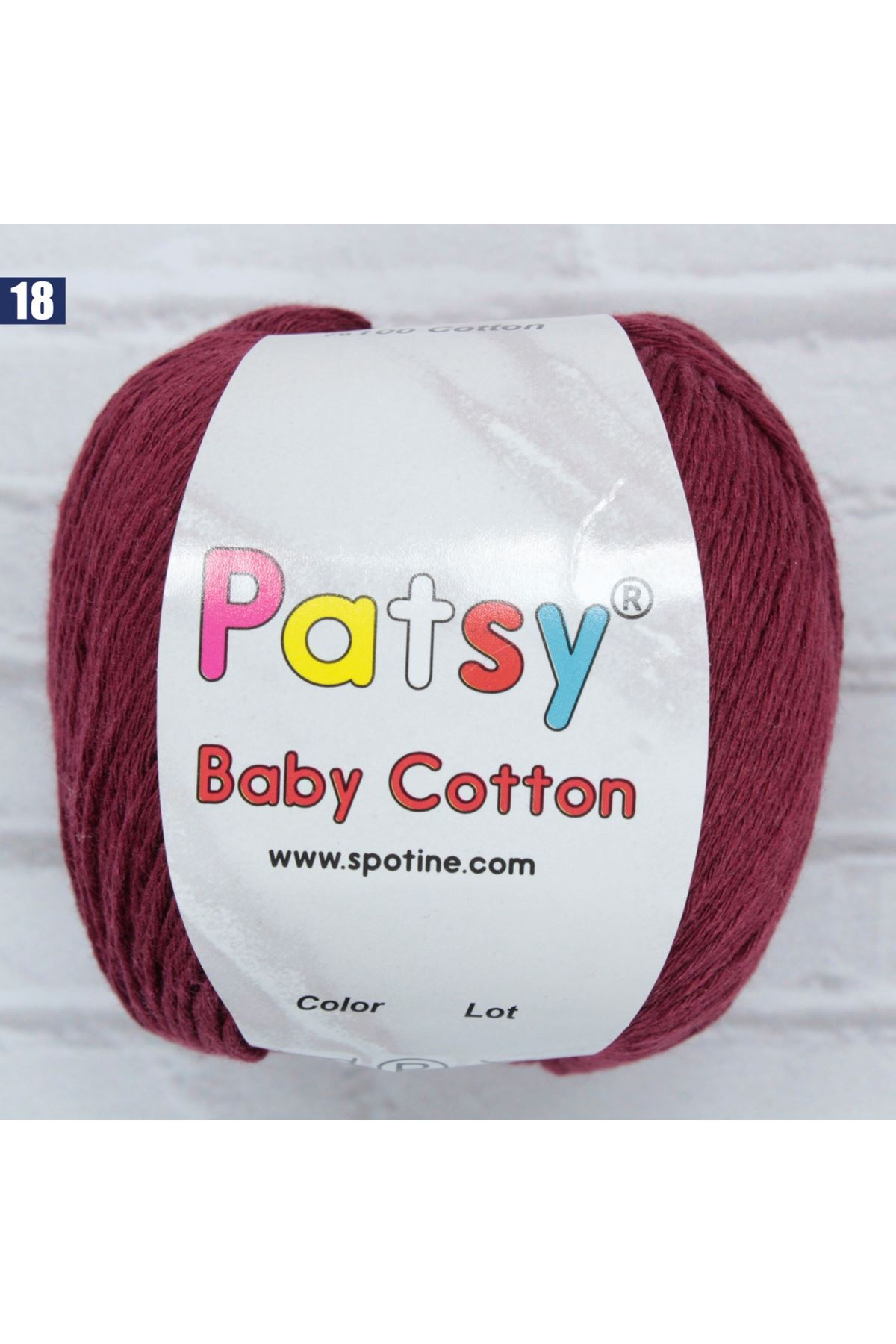 Patsy Baby Cotton 18