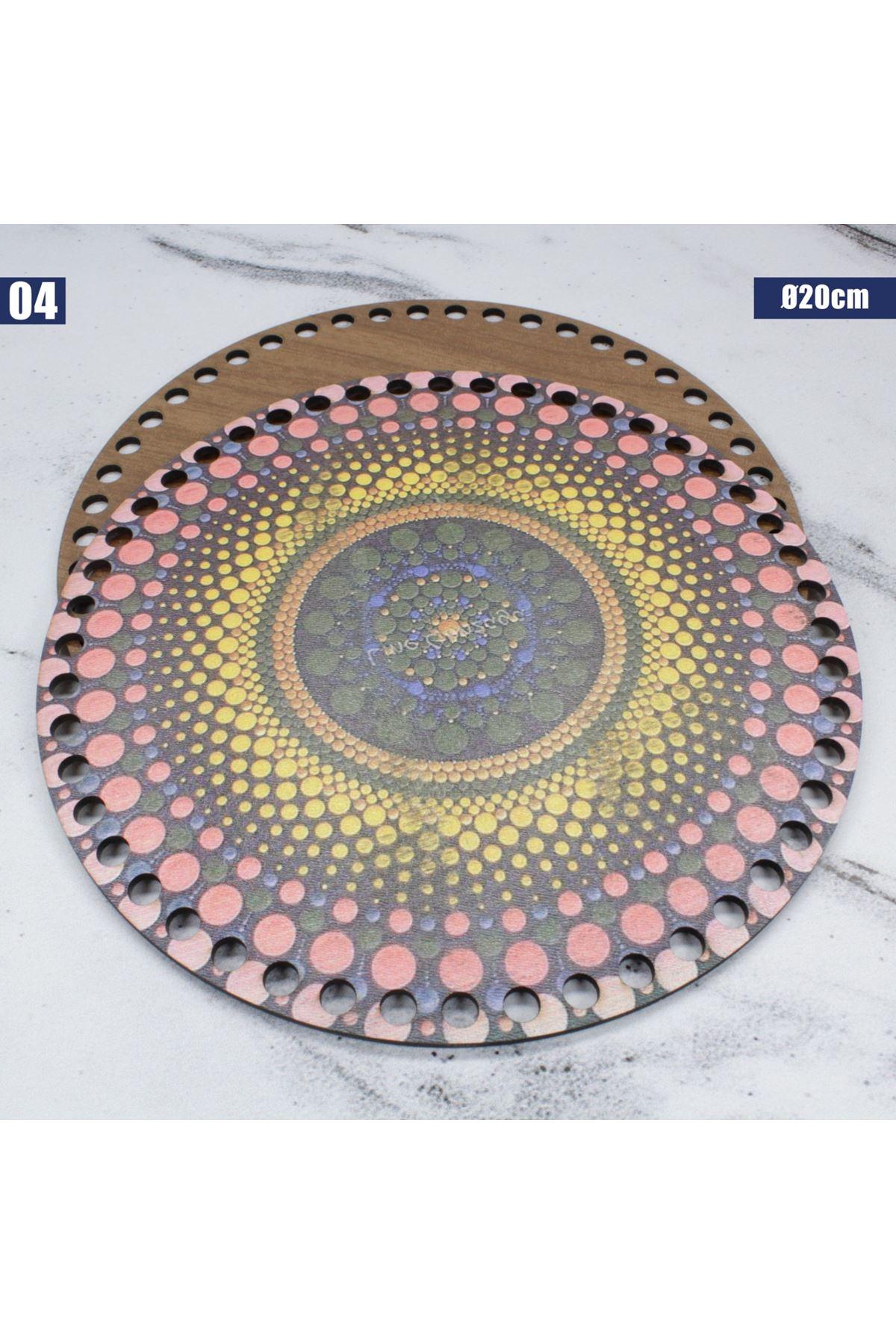 Ahşap Çanta Plakası - 04