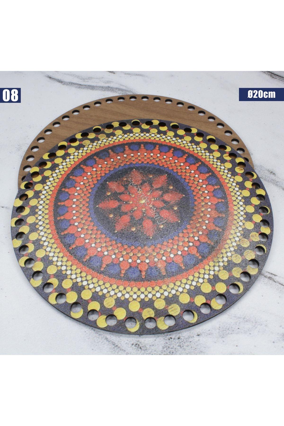 Ahşap Çanta Plakası - 08
