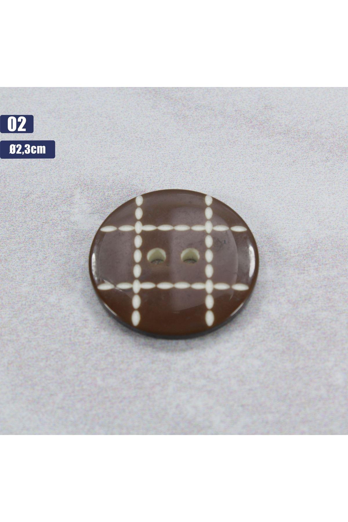 Düğme 1 Adet - 02