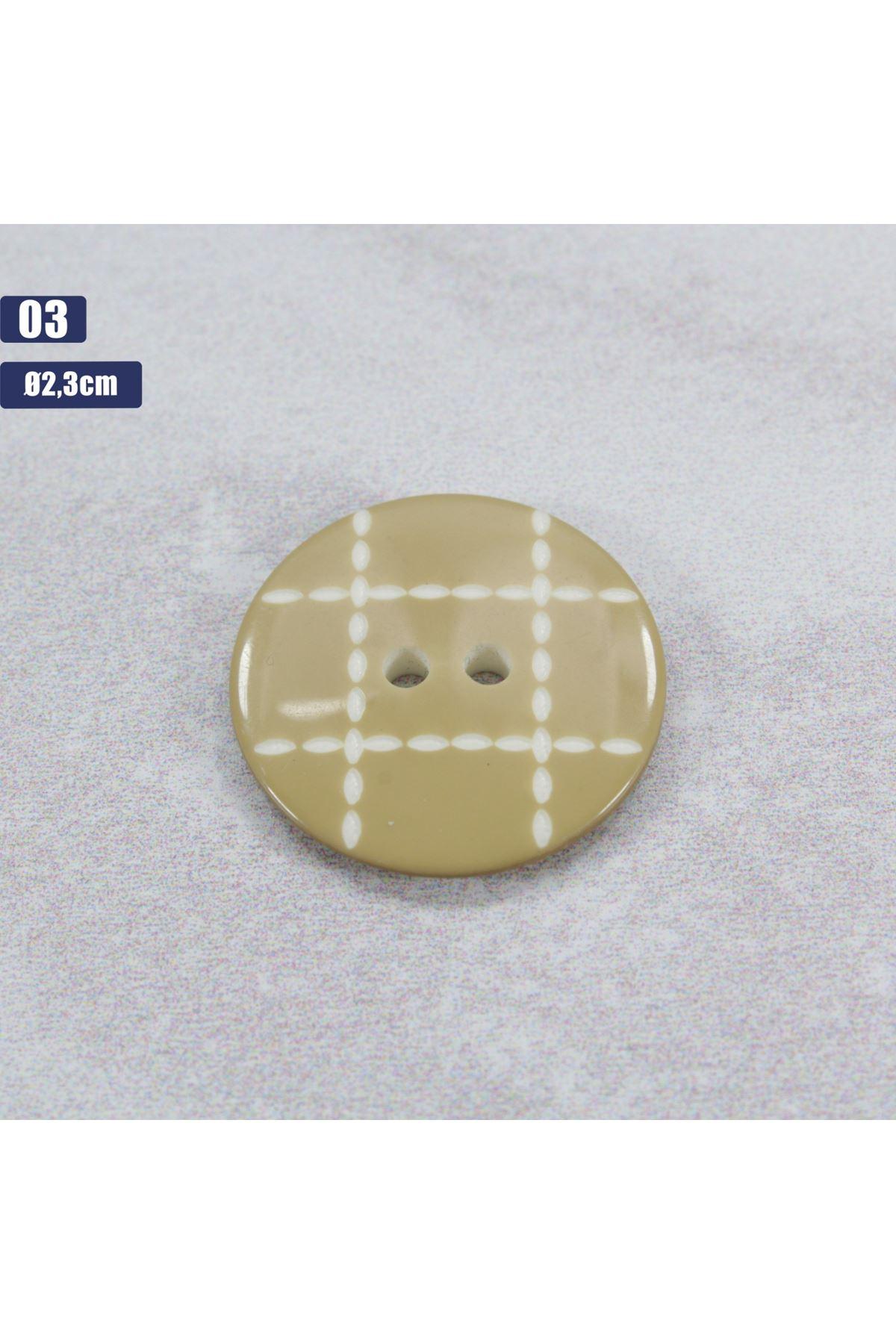 Düğme 1 Adet - 03